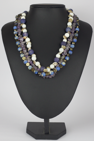 Lilac Beaches Necklace