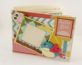 Hello Love Scrapbook Album