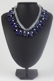 Azure Collar Necklace