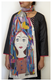 Painted Faces Scarf