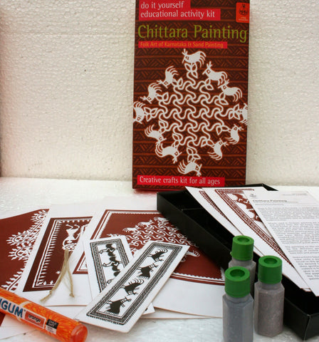 Chittara Painting Kit with DVD