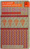 DIY Indian Craft Kit: Hand Block Printing Classic