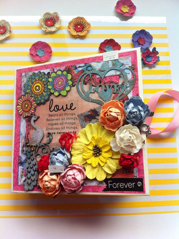 Customised Love Scrapbook