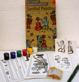 DIY Santhal Painting Kit with DVD