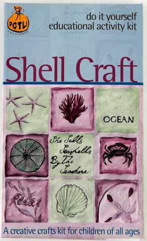 DIY Indian Craft Kit: Shell Craft