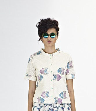 White Fish Shirt