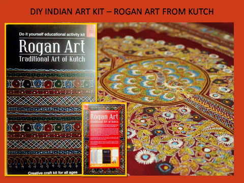 DIY Rogan Art Kit