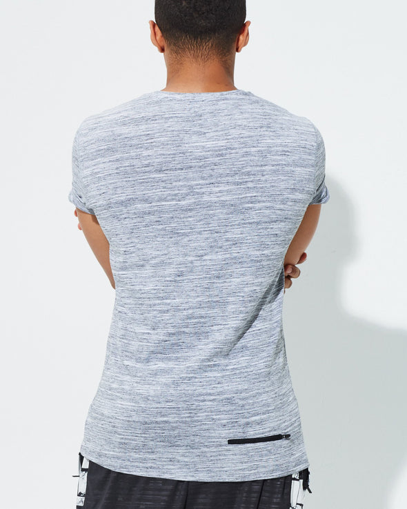 Space Dye Stretch Tee - RARR Sportswear