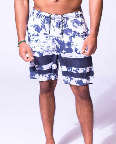 Stretch Knit Urban Camo Shorts