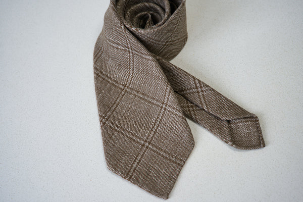 MTO - Reda Linen Wool Checks