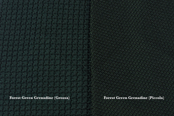 Forest Green Grenadine (Grossa weave)