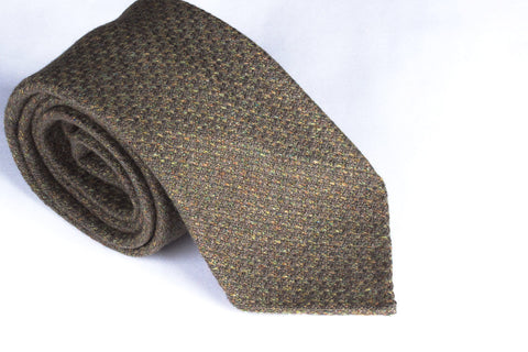 Moss Cashmere Tweed