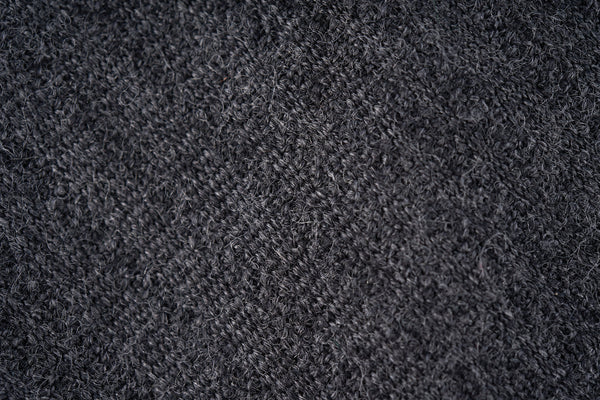 Grey Self Stripe in Wool