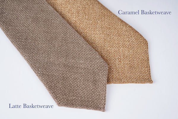Latte Basketweave by Carnet