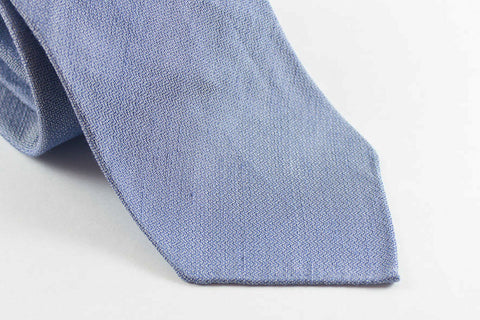 "Light Blue ""Chambray"" Silk Linen"
