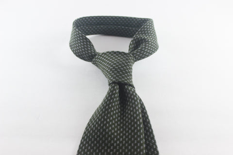 Olive Grey in Wool Silk