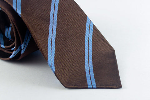 Brown-Blue Double Bar Repp
