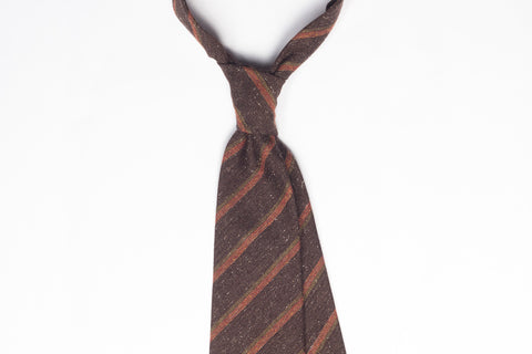 Brown-Orange Vintage Stripes