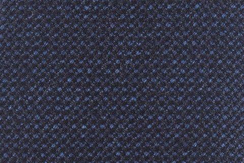 Blue Basketweave Silk/Cotton