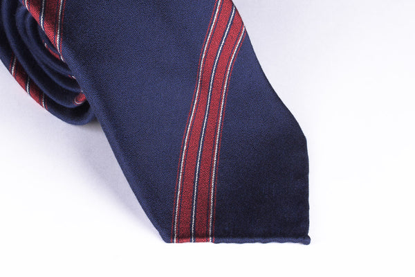 Blue-Red Wide Stripes
