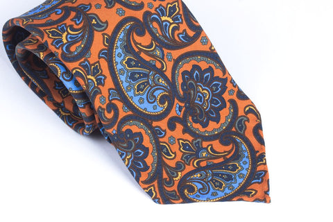 Orange Large Paisley
