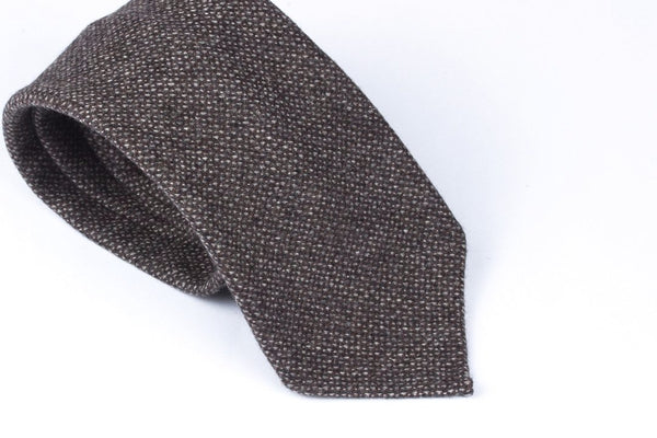 Greyish Brown Wool Cashmere