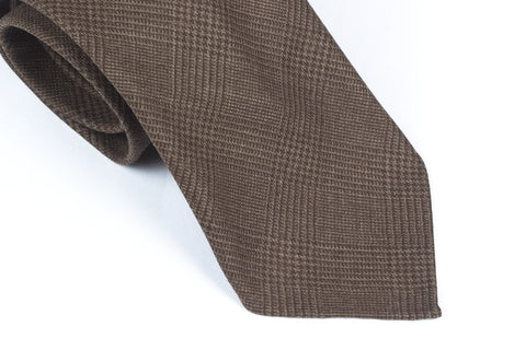 Undyed Escorial Brown Glencheck