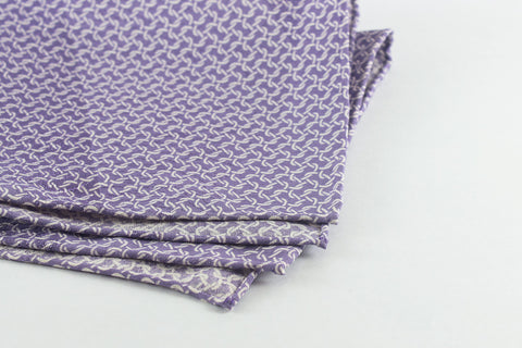 Scarf: Purple Links