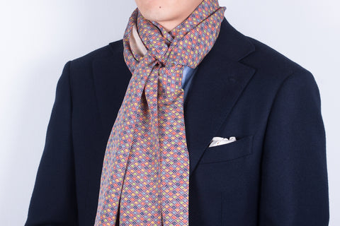 Scarf: Colourful Geo