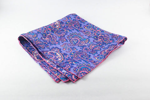 Purple-Pink Medium Paisley