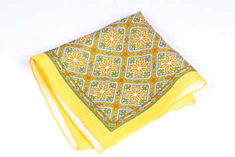 Yellow Tiles in Linen