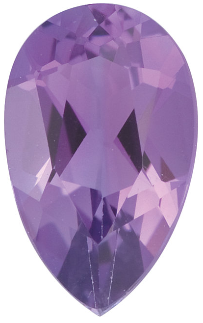 Natural Fine Rich Violet Amethyst - Pear Shape - Brazil - Select Grade - NW Gems & Diamonds