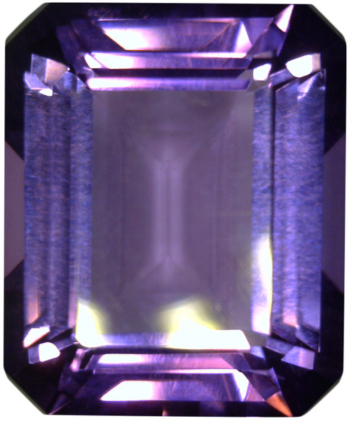 Natural Fine Purple Amethyst - Emerald Cut - East Africa - Top Grade - NW Gems & Diamonds