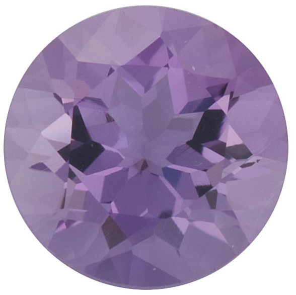 Natural Fine Lilac Violet Amethyst - Round - Brazil - Select Grade - NW Gems & Diamonds