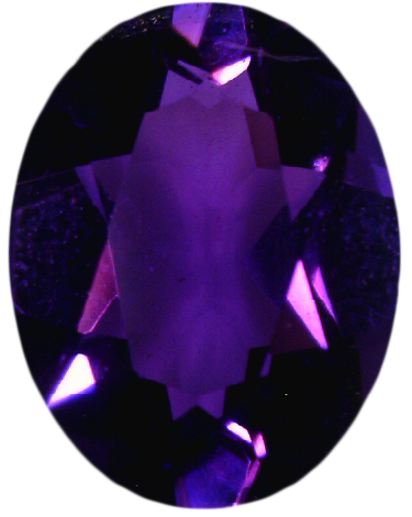 Natural Fine Intense Purple Amethyst - Oval - Zambia - Top Grade - NW Gems & Diamonds