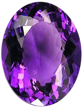 Natural Fine Royal Purple Amethyst - Oval - Africa - Top Grade - NW Gems & Diamonds