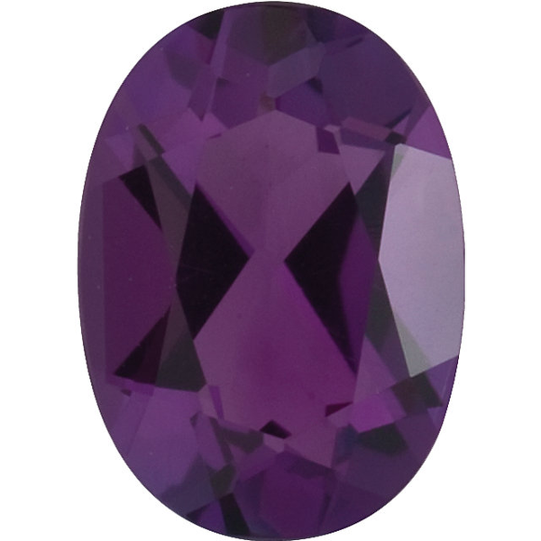 Natural Fine Purple Amethyst - Oval - Brazil - Top Grade - NW Gems & Diamonds