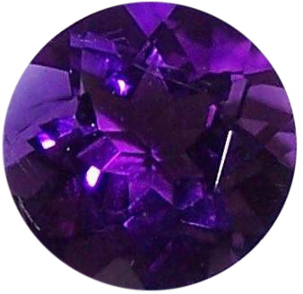 Natural Fine Deep Purple Amethyst - Round - Zambia - Top Grade - NW Gems & Diamonds