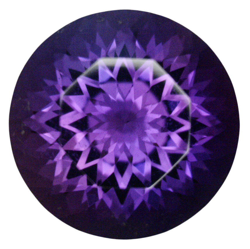 Natural Fine Vivid Siberian Purple Amethyst - Round - Siberia - Super Fine Grade - NW Gems & Diamonds