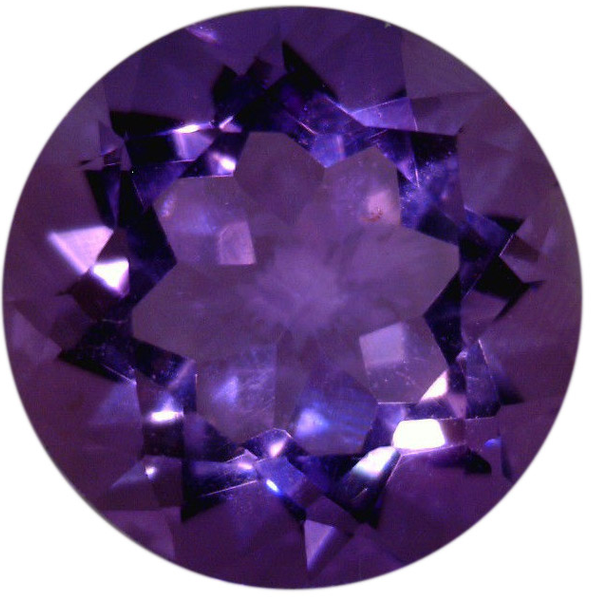 Natural Fine Russian Purple Amethyst - Round - Russia - Top Grade - NW Gems & Diamonds