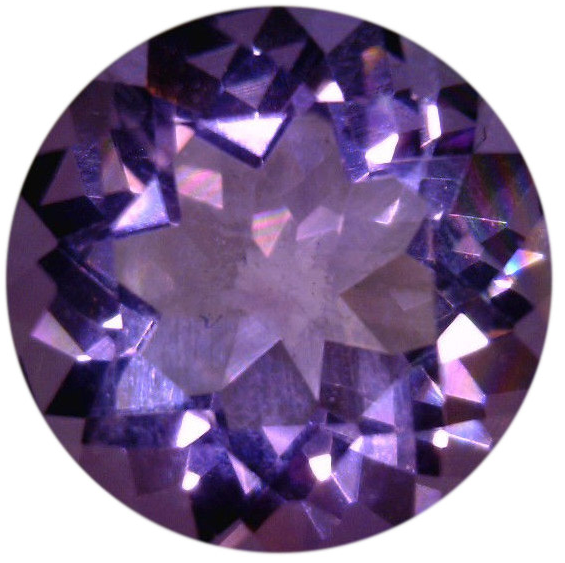 Natural Fine Russian Violet Amethyst - Round - Russia - Select Grade - NW Gems & Diamonds