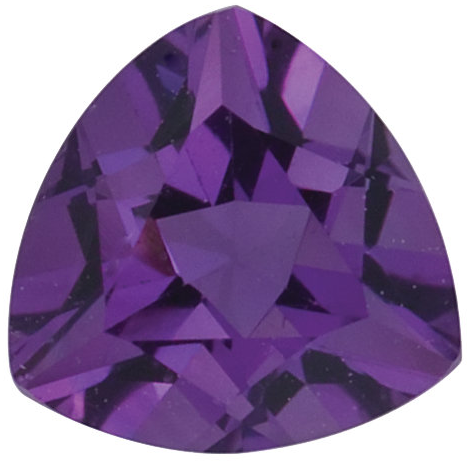 Natural Fine Purple Amethyst - Trillion - Brazil - Top Grade - NW Gems & Diamonds