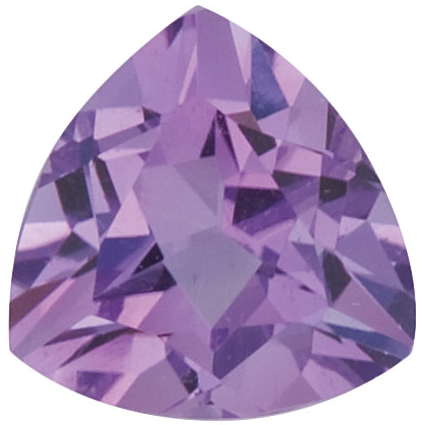 Natural Fine Violet Lilac Amethyst - Trillion - Brazil - Top Grade - NW Gems & Diamonds