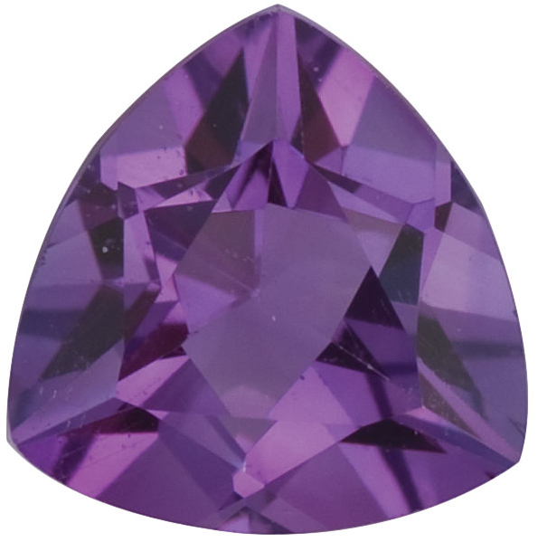 Natural Fine Violet Amethyst - Trillion - Brazil - Top Grade - NW Gems & Diamonds