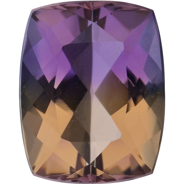 Natural Fine Ametrine - Antique Cushion - Bolivia - Top Grade - NW Gems & Diamonds
