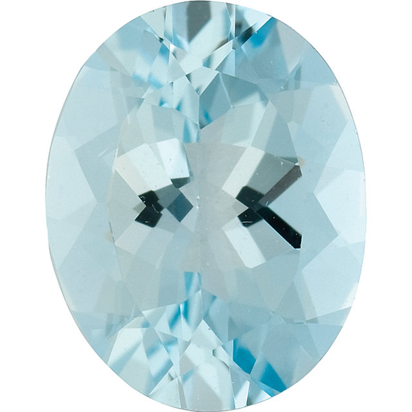 Natural Fine Light Blue Aquamarine - Oval - Brazil - Select Grade - NW Gems & Diamonds