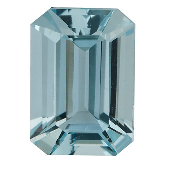 Natural Fine Light Blue Aquamarine - Emerald Cut - Brazil - Select Grade - NW Gems & Diamonds