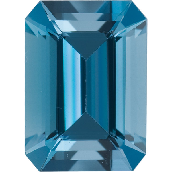Natural Extra Fine Blue Aquamarine - Emerald Cut - Zambia - Extra Fine Grade - NW Gems & Diamonds