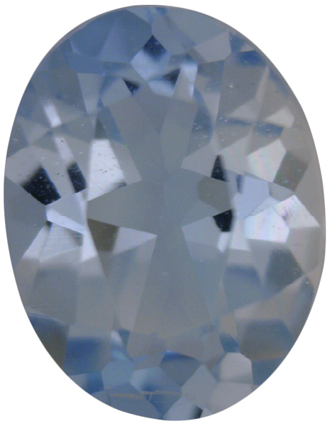 Natural Fine Light Baby Blue Aquamarine - Oval - Zambia - Select Grade - NW Gems & Diamonds