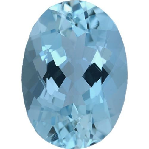 Natural Fine Blue Aquamarine - Oval - Santa Maria, de Itabira - Top Grade - NW Gems & Diamonds